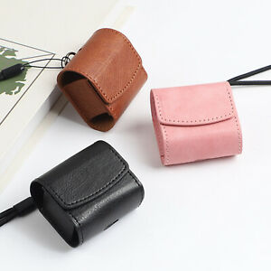 Leather Bag Case Shell for Samsung Galaxy Buds Live/Buds Pro Wireless Earbuds