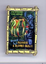 WDI Disney Imagineering Stitch Enchanted Tiki Room Attraction Poster Cast LE Pin
