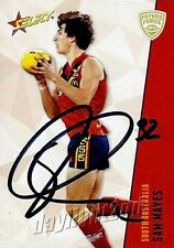 ✺Signed✺ 2012 BRISBANE LIONS AFL Card SAM MAYES Future Force