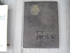 Vintage 1956 St. Mary Catholic High School Yearbook New Haven Connecticut Ct.
