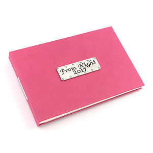 Prom Night 2018 Photo Album Fuschia Pink Holds 40 Photos by Metal Planet