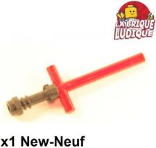 Lego 1x Lightsaber Blade crossed sabre laser croix trans red 21699 + 64567 NEUF