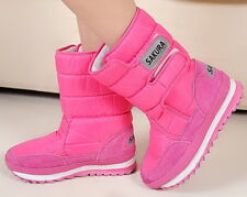 Winter Girl/woman warm boots waterproof boots joggers Boots Snow Boots(10 Color)