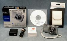 16.2MP SONY CYBER-SHOT DSC-WX9 DIGITAL CAMERA OUTFIT WITH CASE