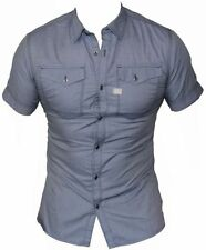 G-Star Short Sleeve Button-Front Casual Shirts for Men