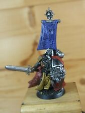 PLASTIC WARHAMMER AOBR SPACE MARINE CAPTAIN COMMANDER PART PAINTED (316)