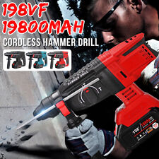 Brushless Electric Rotary Hammer Drill Heavy Duty 1800r/min No-load Speed Tool