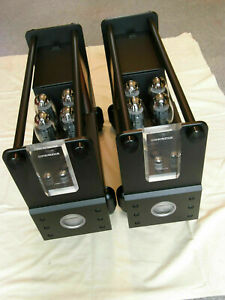 Consonance KT150 Cyber monoblock amplifiers