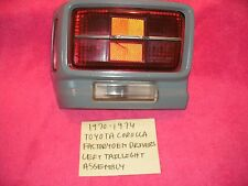 1970-1974 TOYOTA COROLLA 2TC GENUINE VINTAGE FACTORY DRIVER TAILLIGHT ASSEMBLY