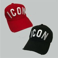 449638e0dff4 Dsquared ICON Black/Red Snapback Baseball Cap ONE SIZE Men and women Unisex