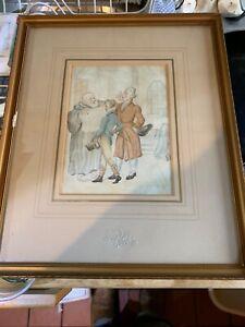 Thomas Rowlandson watercolour