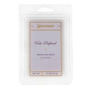 Aromatique Viola Driftwood Wax Melts Cubes 2.7 oz 77g