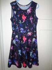 Dress Unicorn Mermaid Fairy Galaxy Long Sleeve colorful JX Star girls 140 8-9y