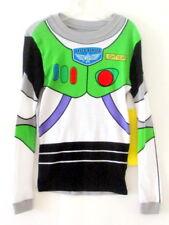NWT $20 Disney Store Toy Story Buzz Light Year Costume Long Slv T-Shirt Boy sz 8