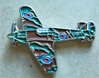 BRAND NEW BEAUTIFUL RAF PIN BADGE HURRICANE POPP.Y 2020