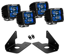 Rigid Radiance LED Fog Light Blue Backlight for 11-14 Chevy Silverado 2500 3500