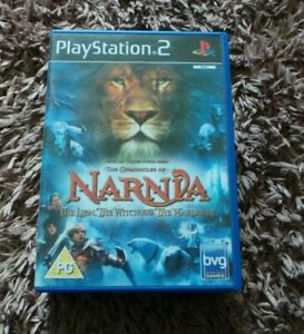 CHRONICLES NARNIA THE LION THE WITCH AND THE WARDROBE PS2 PAL COMPLETE  MANUAL