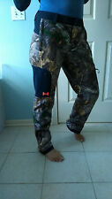 $129 Under Armour Women Winter Hunting Fishing ski pants S M L XL Real Tree Camo
