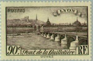 EBS France 1939 - Tourism: Guillotière Bridge, Lyon - YT 450 MNH**
