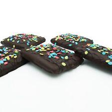 Philadelphia Candies Happy Birthday Graham Crackers, Dark Chocolate Covered 6 oz