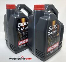 Aceite Motor Motul 8100 X-Cess xcess 5W40, 10 litros (2x 5 lts)