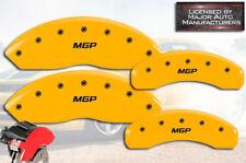 "2015-2017 Ford Transit 150 250 Front Rear Yellow ""MGP"" Brake Disc Caliper Covers"
