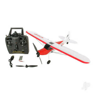 Sonik RC Sport Cub 500 4 Channel Trainer with Flight Stabilisation. Ready To Fly