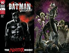 Batman Who Laughs 4 Jock Main Cvr + Kaare Andrews Variant 1st App DC 2019 NM+