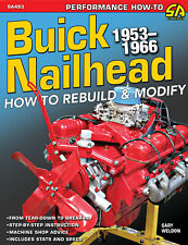 Buick Nailhead engine 1953-1966 Rebuild Modify book manual 264 322 364 401 425