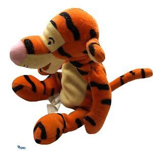 "Walt Disney World Winnie The Pooh Tigger Bean Bag Plush 10"""