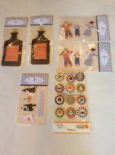 Meri Meri Halloween Accents, Picks, Stickers,
