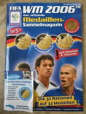 Medaillen WM 2006, Sammlung komplett, guter gebrauchter Zusand