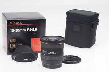 Sigma AF 10-20mm F4-5.6 EX DC HSM Lens Canon EF                             #158