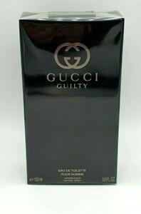 Gucci Guilty Pour Homme EDT 150ml 5oz For Men Brand New Sealed 100% Original