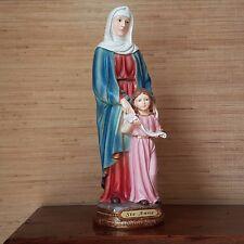 Heilige Anna Heiligenfigur Mutter Marias Madonna Deko Figur Jesus Christus Gott