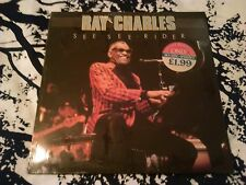 RAY CHARLES - SEE SEE RIDER LP MINT / SEALED!!! U.S PREMIER CBR 1018