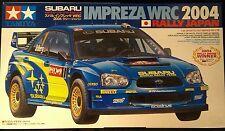 TAMIYA SUBARU IMPREZA WRC 2004 JAPAN RALLY  SCALA 1:24 COD.24276