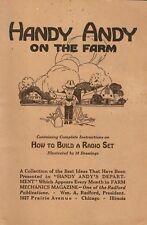 Handy Andy on the Farm * PDF * CDROM * 1924