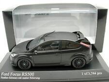 Minichamps 1/43 Ford RS Focus RS500 (2010) - Matt Black - MIB