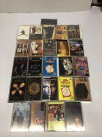 Cassette Tapes Lot Of 25 80s 90s Rock Pop Chicago Whitesnake Random Lot