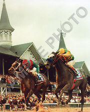 SILVER CHARM 1997 KENTUCKY DERBY WINNER GARY STEVENS HOF 8X10 PHOTO