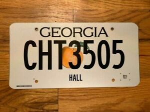 GEORGIA    LICENSE PLATE/TAG ~CHT3505~