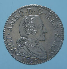 VITTORIO AMEDEO III 20 SOLDI 1796 TORINO SPL