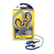 Cuffia ad auricolari earclip sportive stereo per mp3 smartphone jack 3,5 mm