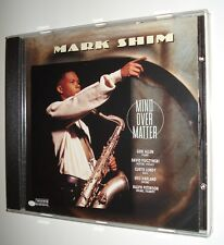 MARK SHIM / MIND OVER MATTER - DAVID FIUCZYNSKI - GERI ALLEN - RARE CD NEW!!!