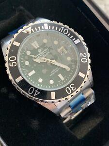 BNIB Croton Sea Diver 20 atm watch - Green/Black - $300 MSRP