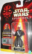 STAR WARS Episode I 1 Phantom menace DARTH MAUL moc 1999 commtech action figures