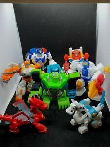 Transformers Rescue Bots Chase Boulder Heatwave Blades Figures Hasbro 2000s