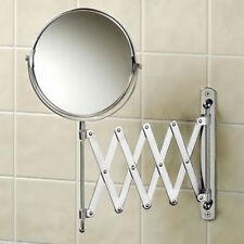 Double Sided Extendable Cosmetic/Shaving Magnifying Mirror