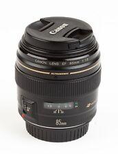Canon USM Lens EF 85mm f1.8